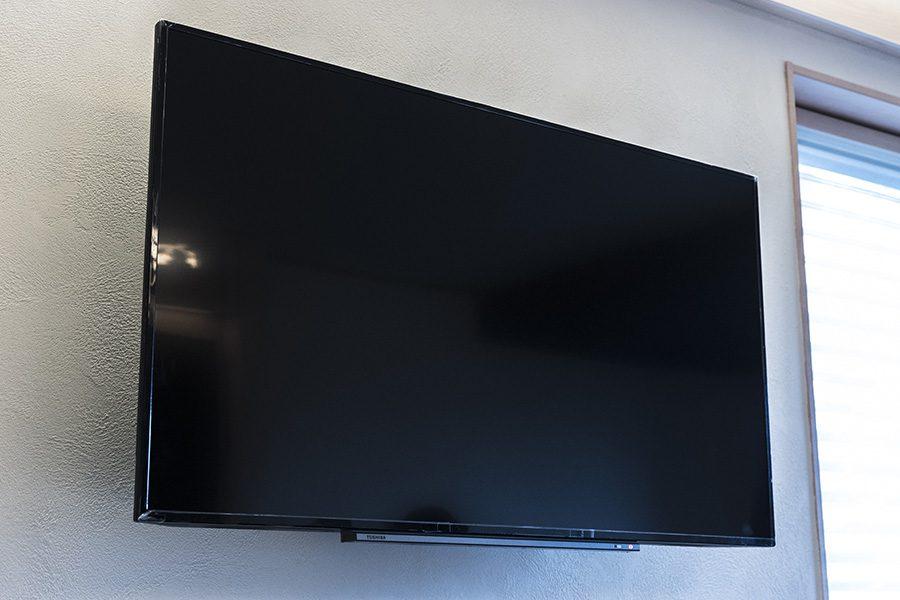 50インチの大型4KTV