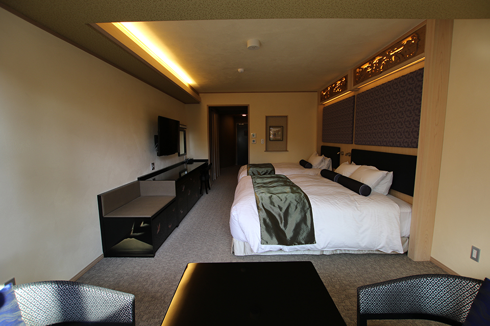 (102号室)上質で快適にくつろげるツインルーム